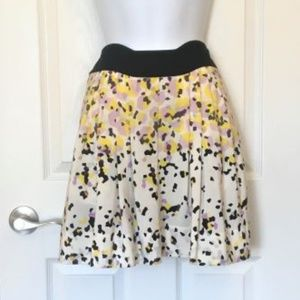 Diane Von Furstenberg  Geo Print Silk Skirt